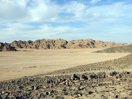 Desert, Sand, Landscape, Sun, Sunset, Dry, Adventure