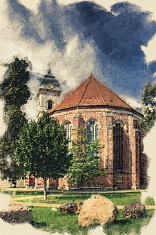 St Mary's Cathedral, Church, Fürstenwalde, Germany