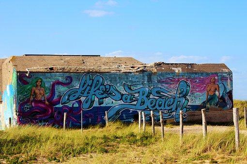 Shelter, Urban, Design, Grafitti, Modern, Art