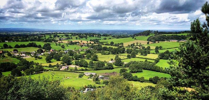 Landscape, Countryside, Rural, Nature, Farm, Scenic