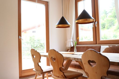 Table, Lamp, Room, Floor, Chair, Furniture, Light