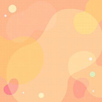Abstract, Liquid, Water, Fluid, Aqua, Orange, Yellow