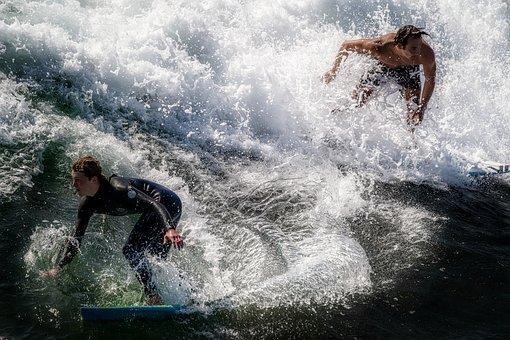 Ocean, Surf, Wave, Sea, Water, Surfing, Summer, Travel
