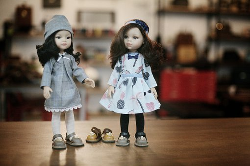 Dolls, Toys, Girls, Outfit, Clothing, Dress, Shoes