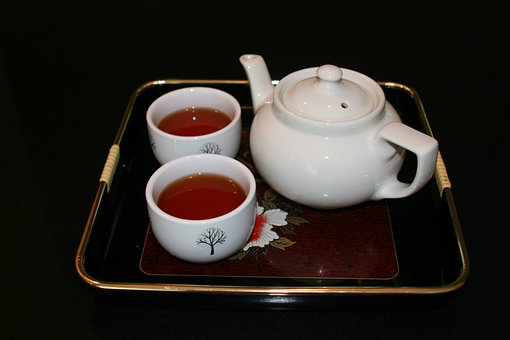 Tea, Teapot, Drink, Beverage, Breakfast, Hot, Teacup