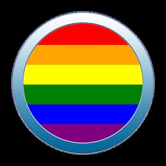 Button, Icon, Pride, Lgbt, Symbol