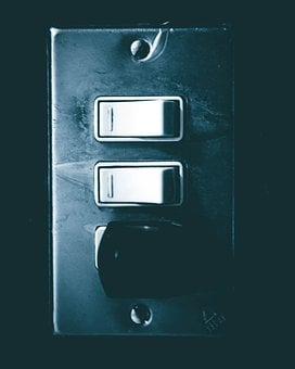 Damper, Light, Off, Switch, Architecture