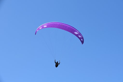 Paragliding, Paraglider, Aircraft, Flight, Fly