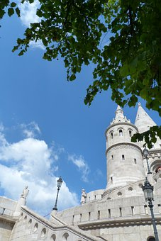 Castle District, Architecture, Tower, Budapest, Hungary