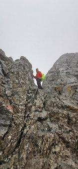 Alpine, Seescharte, Mountains, Mountain Hiking