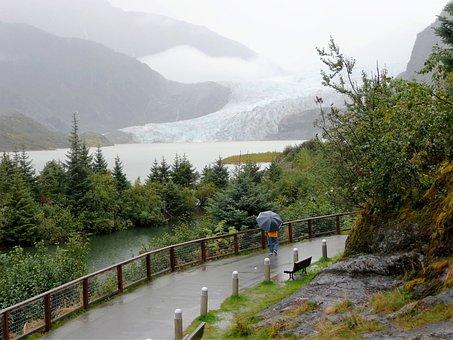 Juneau, Alaska, Mendenhall Glacier, Mountains