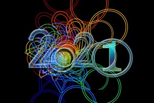 New Year's Day, New Year's Eve, Clock, Year, 2021