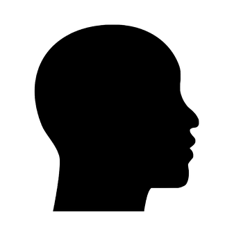 Head, Profile, Silhouette, Mind, Brain, African