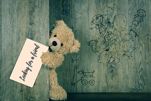 Teddy, Teddy Bear, Lonely, Loneliness, Search