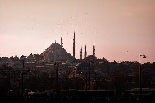 Cami, Suleymaniye Mosque, Sky, Islam, Architecture