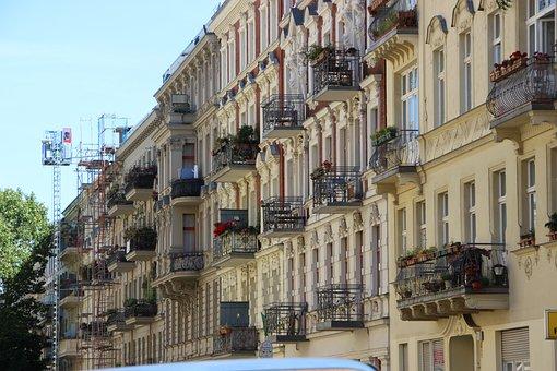 Building, Facade, Balcony, Architecture, House, Window