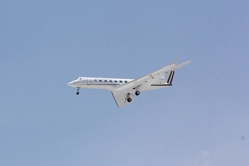 Gulfstream, G550, Airplane, Aircraft, Private, Jet
