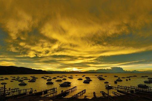 Lake, Titicaca, Bolivia, Copacabana, Water, Landscape