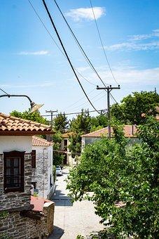 Village, Greece, City, Travel, Architecture