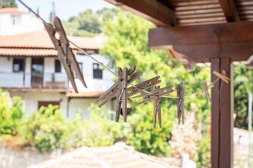 Village, Greece, Travel, Architecture, Mediterranean