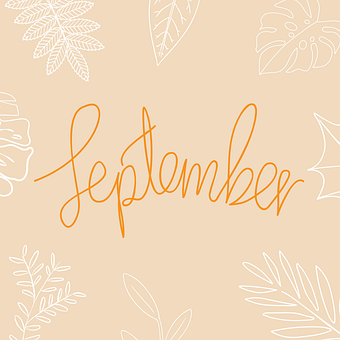 September, Month, Calendar, Schedule, Monthly, Date