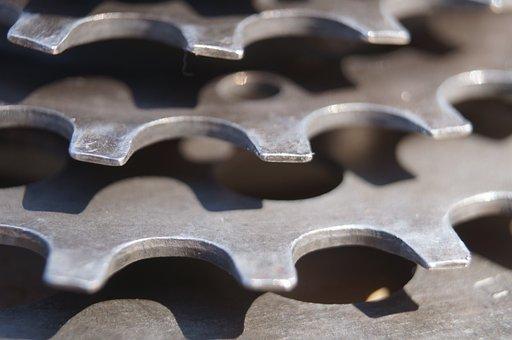Sprocket, Cogs, Gears, Mechanics, Bicycle, Design