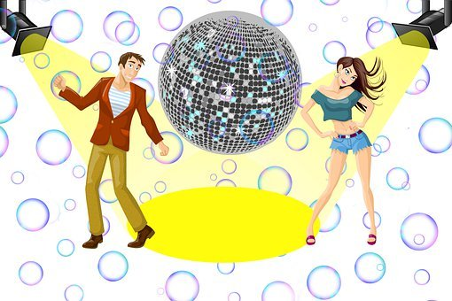 Man, Woman, Dance, Disco, Party, Fun, Nightclub, Female