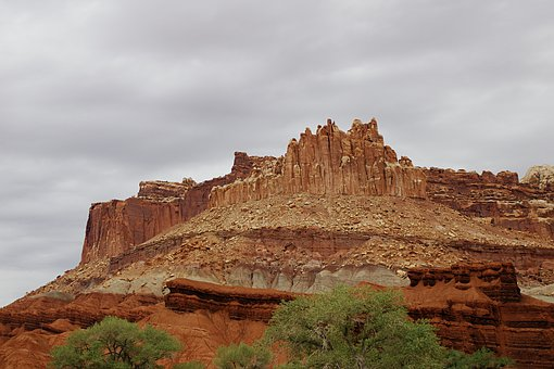 Capital, Reef, Arch, Utah, Ut, National, Park, Nature