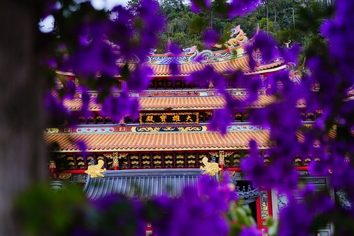 Temple, Building, Buddhism, Roof, Traditional