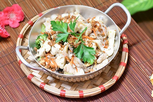 Vietnam, Food, Pasta, Pad Thai, Spaghetti, Noodles