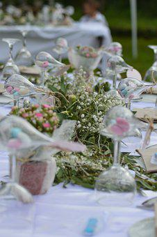 Flowers, Wedding, Decoration, Decorative