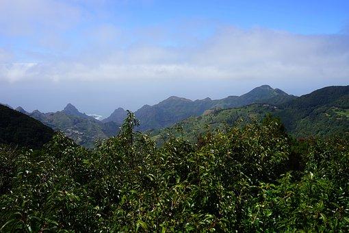 Viewpoint, Tenerife, Añana Salt Valley Mountains