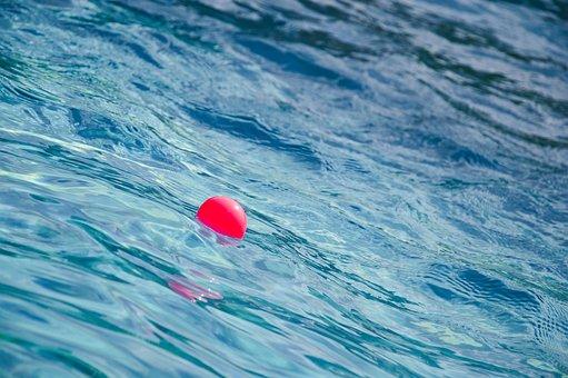 Ball, Swimming Pool, Water, Swimming, Pool, Blue
