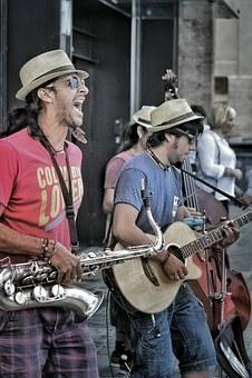 Barcelona, Music, Group, Guitar, Saxophone