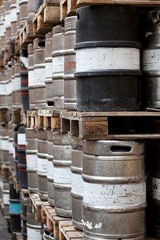 Barrel, Barrels, Metal, Alcohol, Container, Steel, Beer