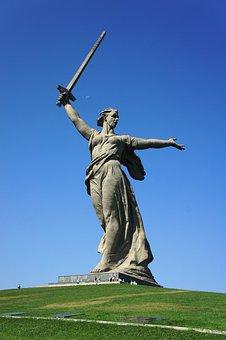 Monument, Birthplace, Russia, Volgograd