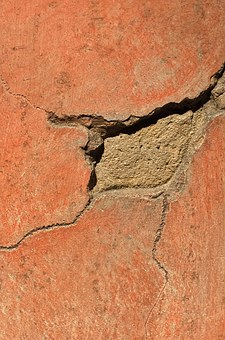 Architecture, Distressed, Cracked, Building, Features