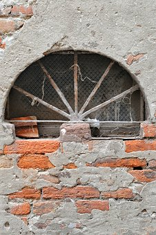 Window, Iron, Rust, Texture, Wall, Color, Building
