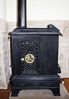 Heating, Oven, Historically, Cast Iron, Old, Nostalgia