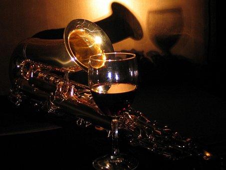 Sax, Saxophone, Music, Instruments, Dark, The Darkness