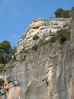 Escalation, Scalar, Rock Wall, Siurana, Climber