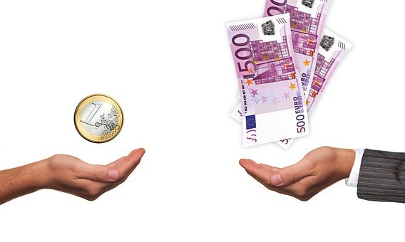 Hands, Suit, Euro, Coin, Bill, Poverty, Wealth