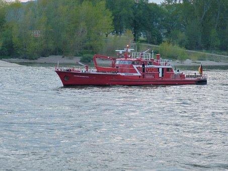 Ship, Fire, Boot, River, Help, Distress, Delete