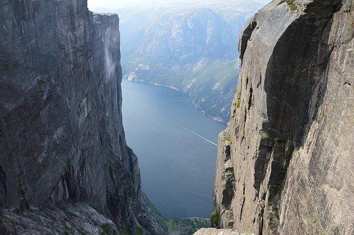 Norway, Kjerag, Lysebotn, Fjord, Nature, Scandinavia