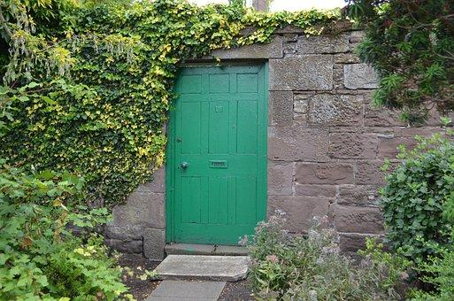 Door, Green, Nature, Wall, Input, Completed, Garden
