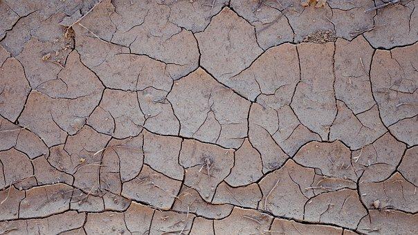Background, Texture, Ground, Cracks, Mud, Distressed