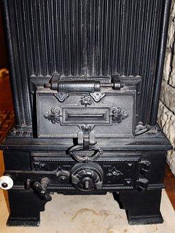 Heating, Oven, Old, Historically, Cast Iron, Heat