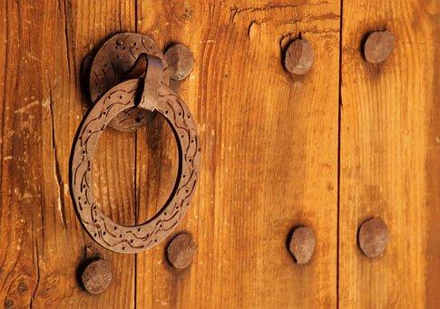 Wood, Architecture, Door, Door Handle, Input, Security