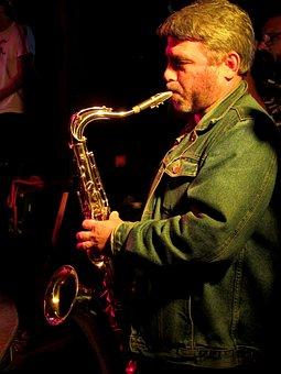 Musician, Saxophone, Player, Instrument, Jazz