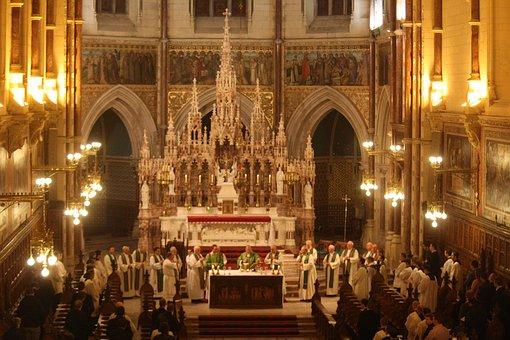 Irish Seminary Mass, Catholic Mass Celebration